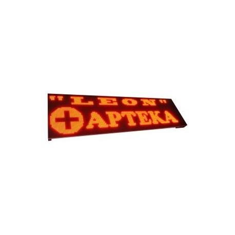 Zewnętrzny wyświetlacz graficzny LED GR303 Max 110x48cm najwyższa jakość