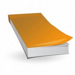 Notes A6 klejony z okładką, 50 kartek