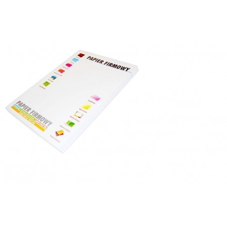 Papier firmowy A4, nadruk kolorowy