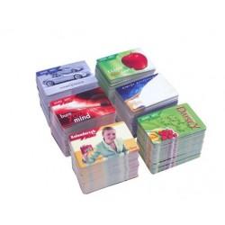 Biznes karty 85x54 folia mat obie strony, okrągłe rogi