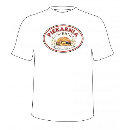 Koszulka męska 10szt. Heavy Cotton Biała + nadruk full kolor A4
