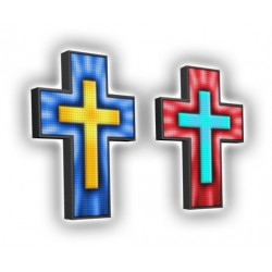 Krzyż kościelny, krzyże kościelne, LED, producent, RGB16-6 kolor
