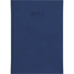 Kalendarz książkowy A5 dzienny z logo, kalendarze książkowe, firmowe, tłoczone logo