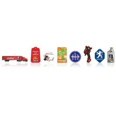 Zawieszki zapachowe standard 1ml, zawieszki samochodowe, zawieszki reklamowe