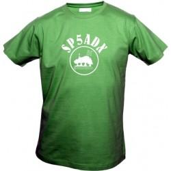 Koszulka Heavy z nadrukiem Kampinos 2014, na spotkanie krótkofalowców, HAM radio