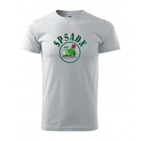 Koszulka z nadrukiem kolor Kampinos 2014, na spotkanie krótkofalowców