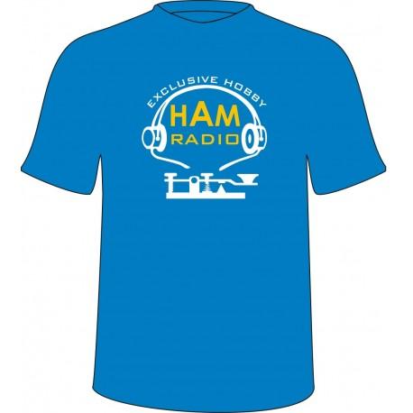Koszulka HAM RADIO motyw 2, dla krótkofalowca
