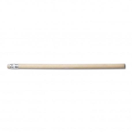 Drewniany ołówek z gumką, ołówki reklamowe, grawer gratis, ołówek reklamowy, 1000szt.