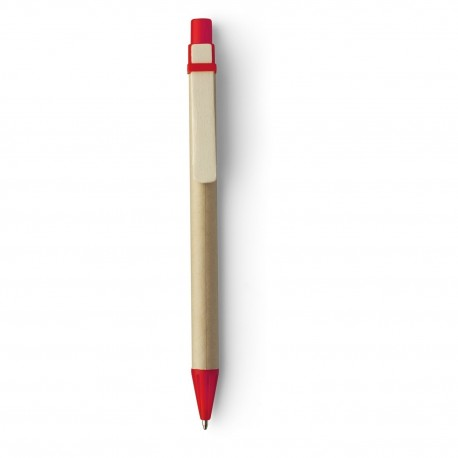 Ekologiczny długopis z drewnianym klipem, eko długopis reklamowy, grawer gratis