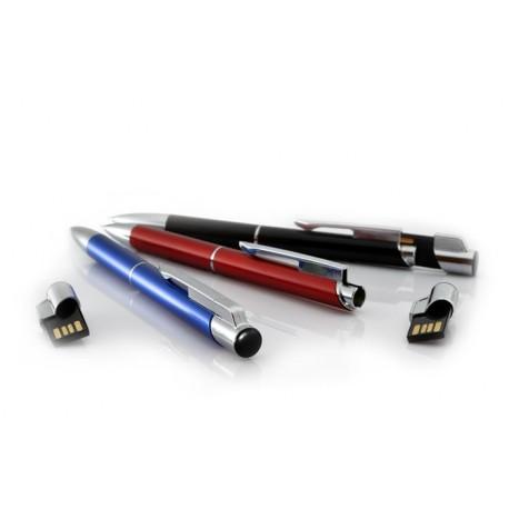 Długopis metalowy z wbudowaną pamięcią USB, długopis z pendrivem