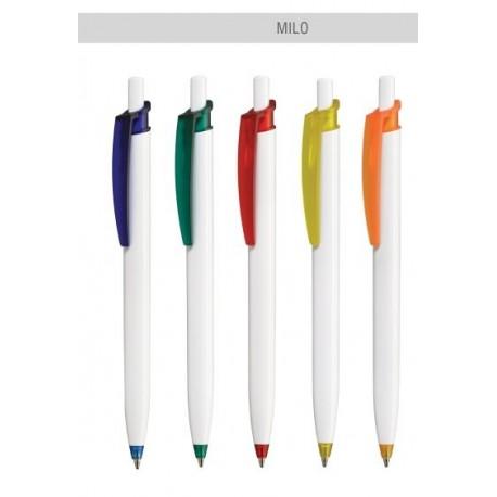 Długopis Milo z grawerem, długopis reklamowy z logo, wkład 2 kilometry pisania