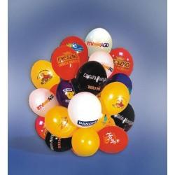 """Balony 12"""" 500szt. z nadrukiem 1 kolor jedno miejsce + patyczki"""