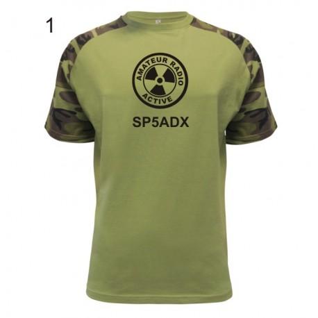Koszulka moro limited edition, stylowa jakość dla krótkofalowca