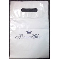 Torba foliowa biała 20x30cm, reklamówka z nadrukiem