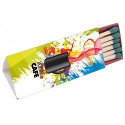 Zapałki reklamowe (trio), własny nadruk kolorowy, 1000szt